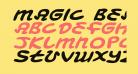 Magic Beans Expanded Italic