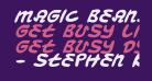 Magic Beans Italic