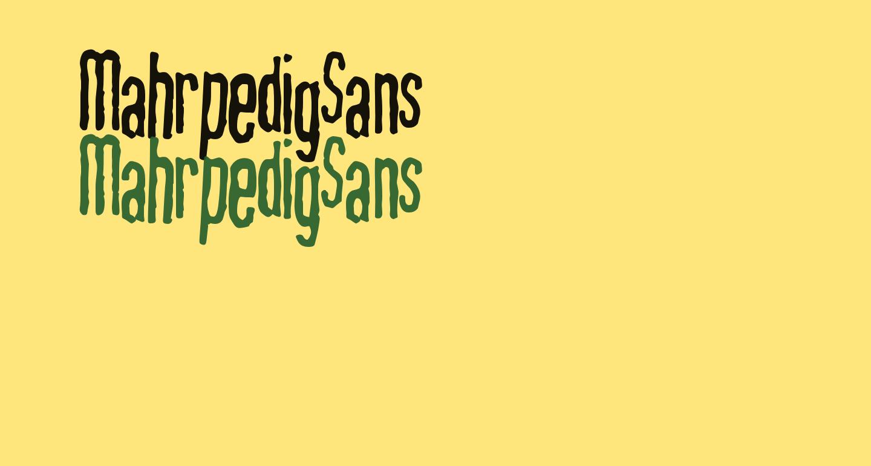 MahrpedigSans