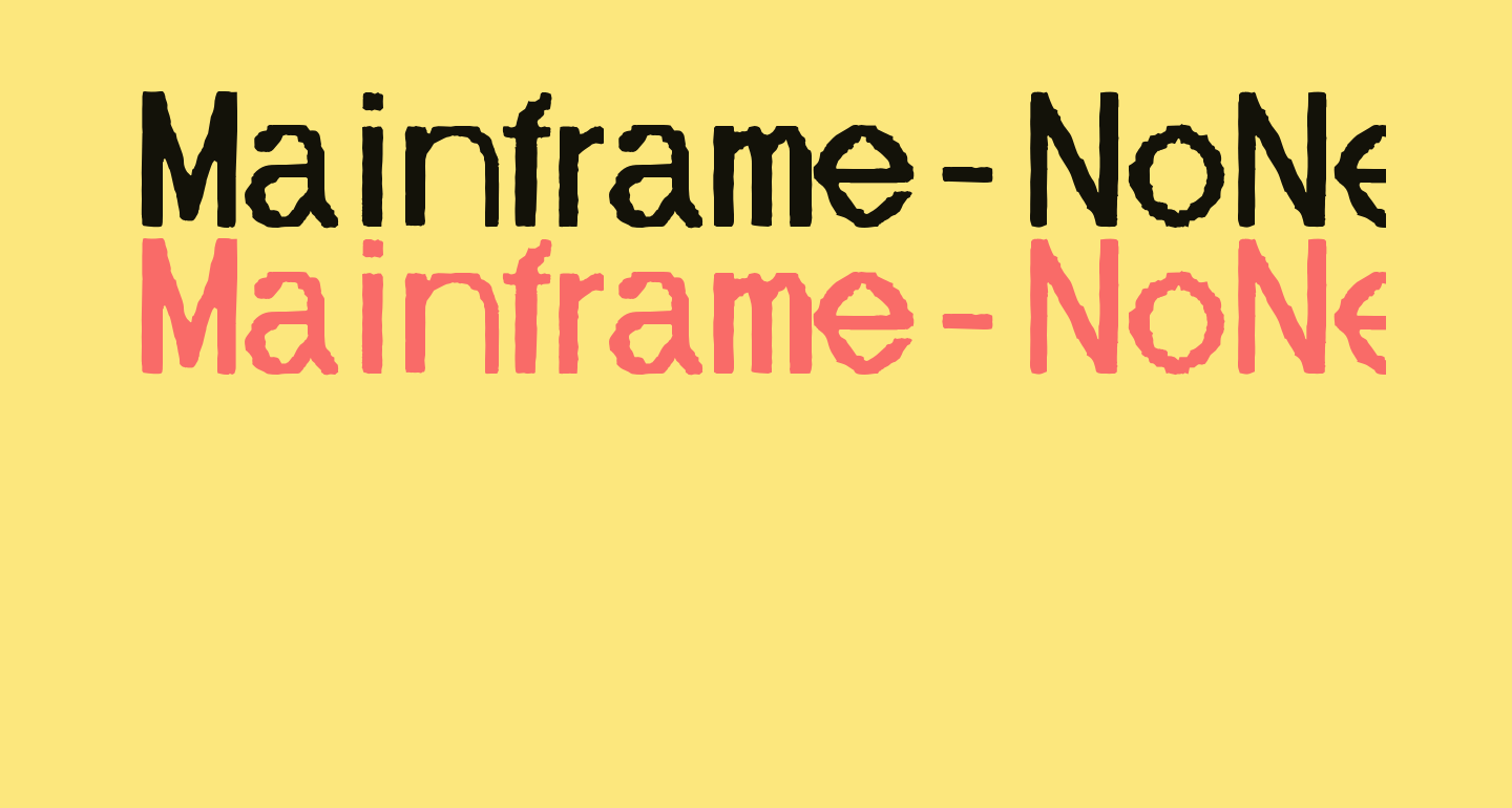 Mainframe-NoNeufUnR