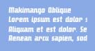 Makimango Oblique