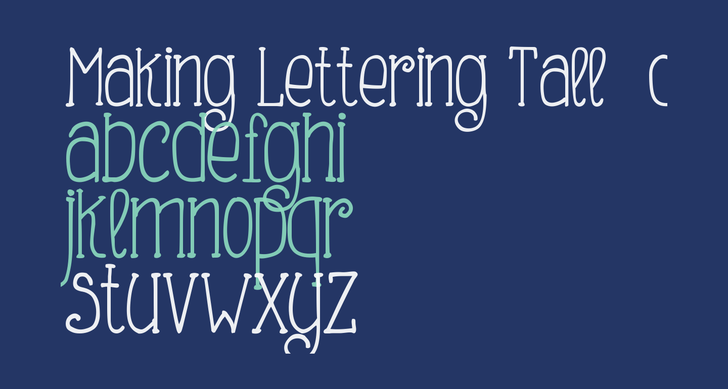 Making Lettering Tall_demo
