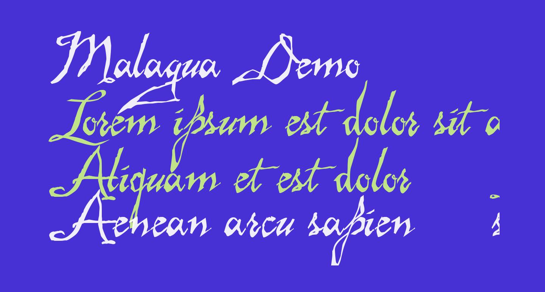 Malagua Demo