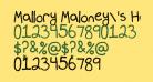 Mallory Maloney's Handwriting