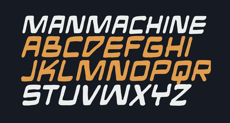 ManMachine BB Bold Italic
