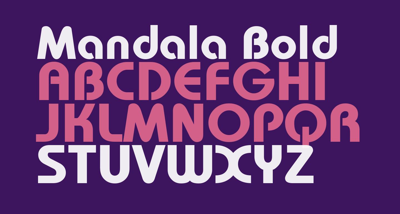 Mandala Bold