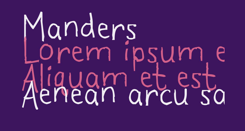 Manders