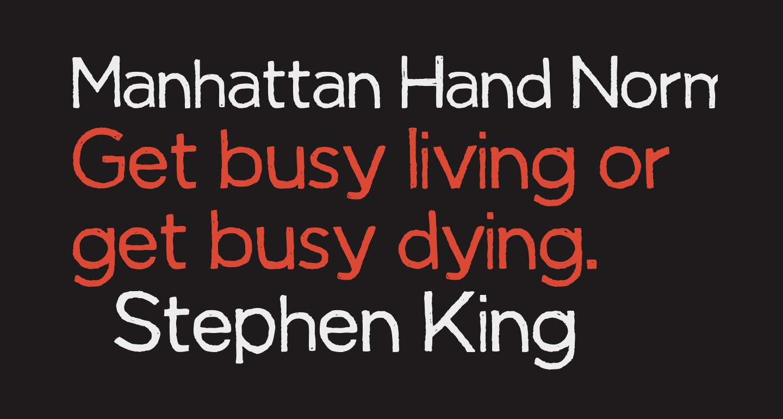 Manhattan Hand Normal