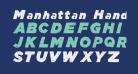 Manhattan Hand Strong Italic