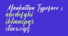 Manhattan Typeface Demo
