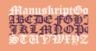 ManuskriptGotisch