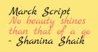 Marck Script