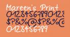 Mareen's Print