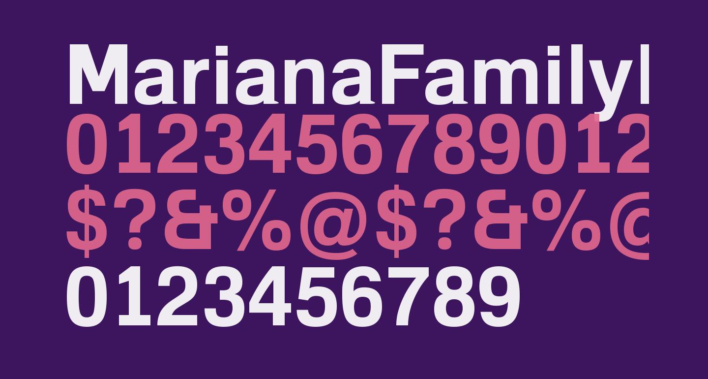 MarianaFamilyRegular