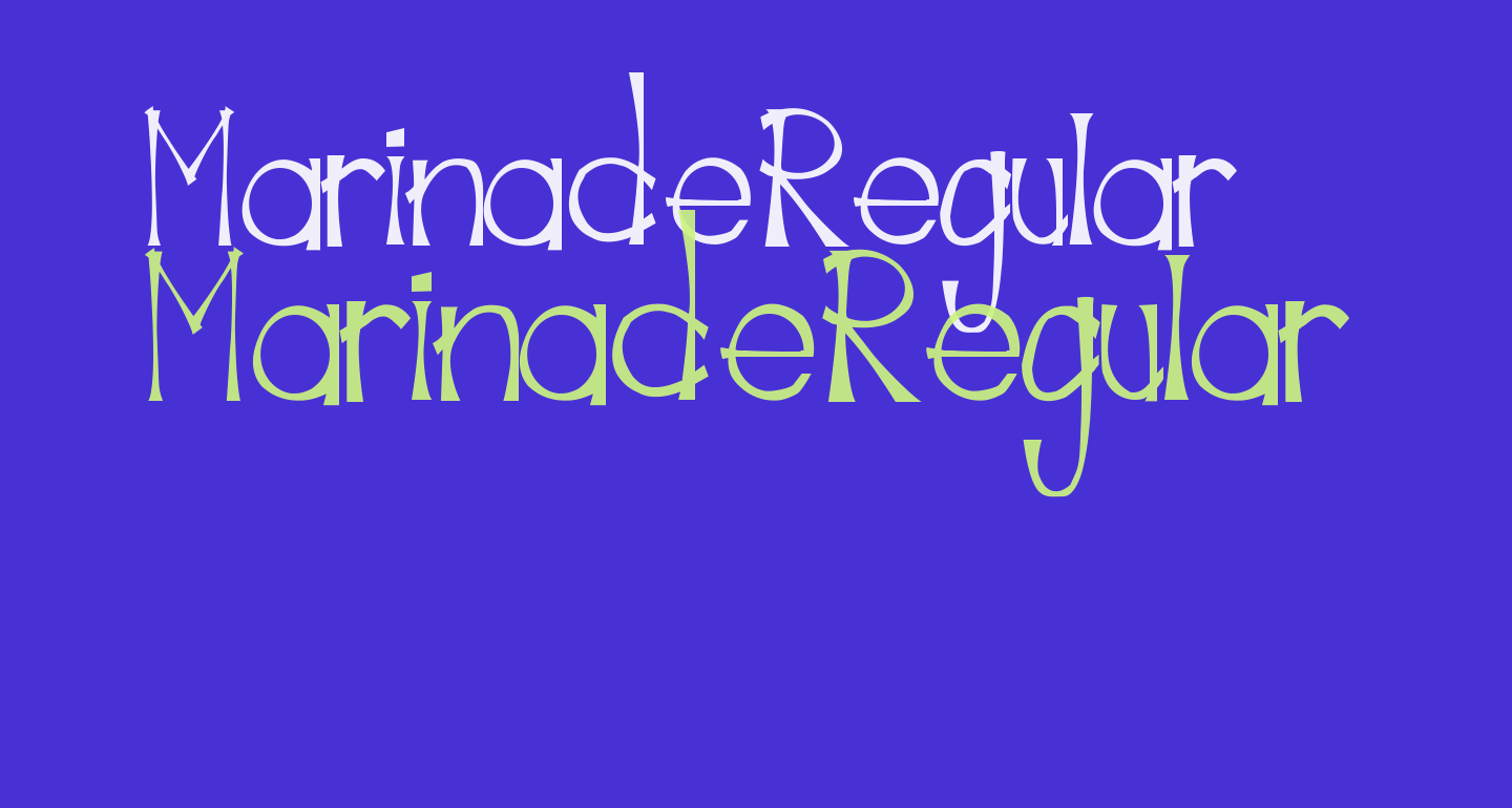 MarinadeRegular