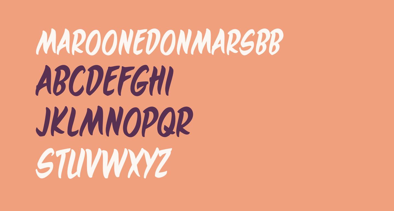 MaroonedOnMarsBB