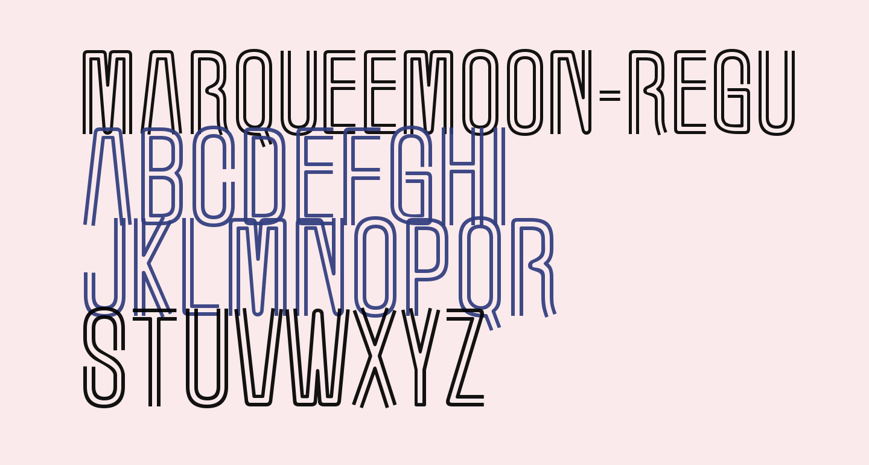 MarqueeMoon-Regular