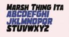 Marsh Thing Italic