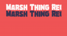 Marsh Thing Regular