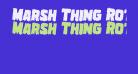 Marsh Thing Rotated 2
