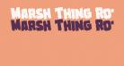 Marsh Thing Rotated