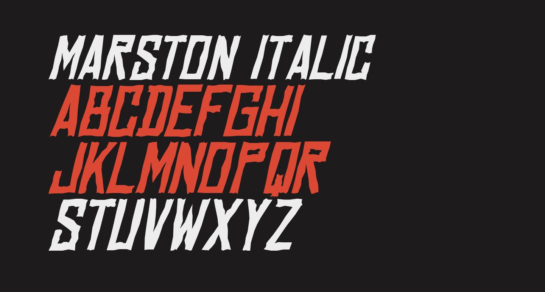 Marston Italic