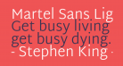 Martel Sans Light