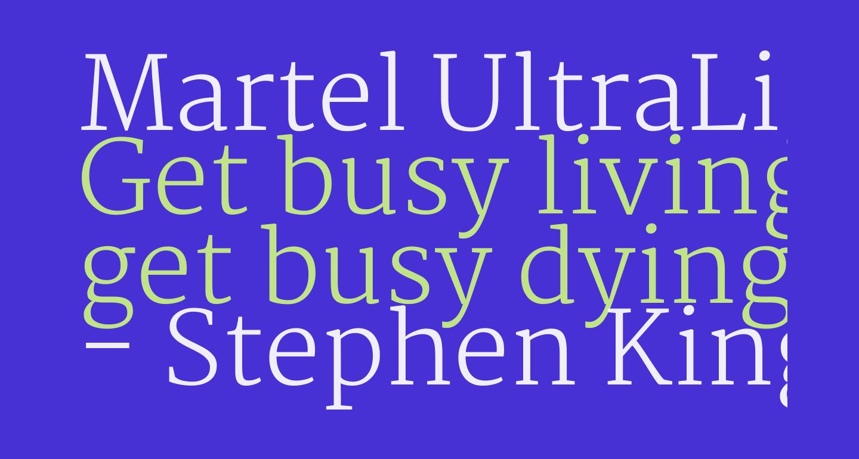 Martel UltraLight