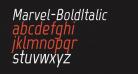 Marvel-BoldItalic