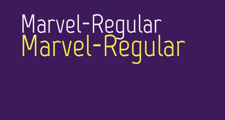 Marvel-Regular