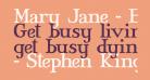 Mary Jane - Eastern Europe