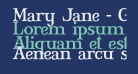 Mary Jane - Greek