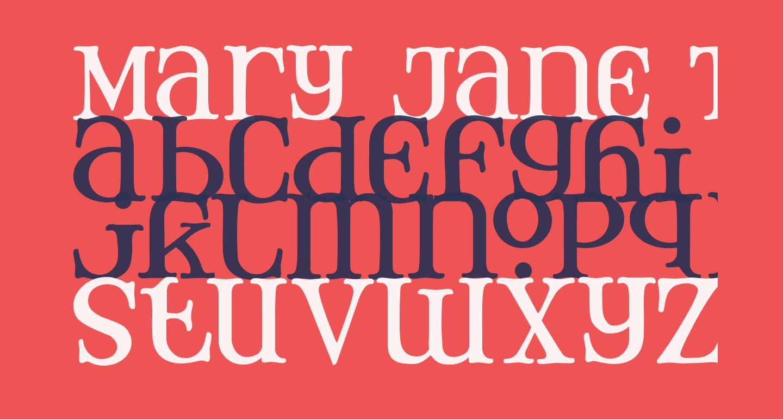 Mary Jane Tankard
