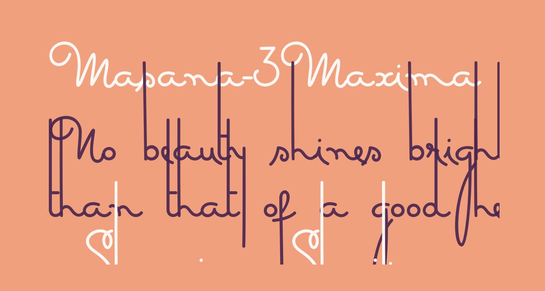 Masana-3Maxima