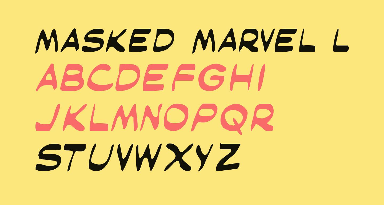 Masked Marvel Light