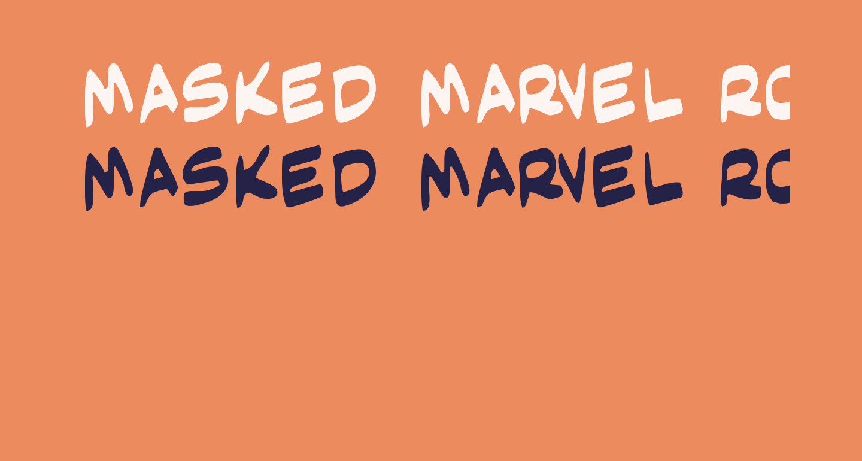 Masked Marvel Rotate