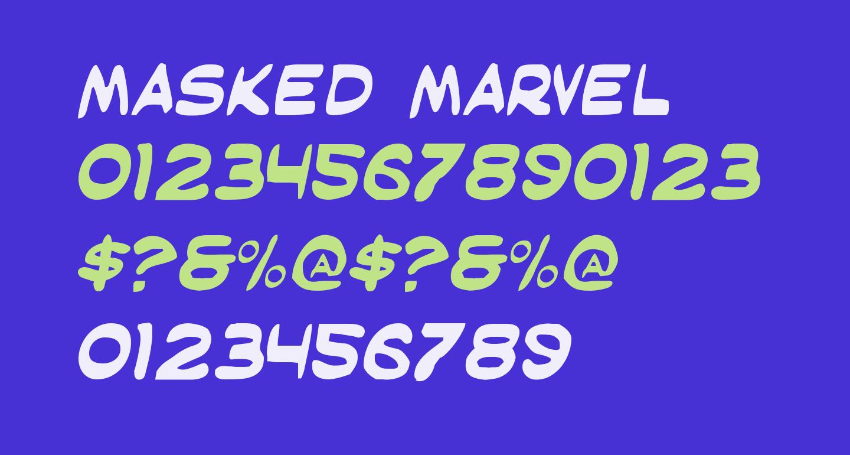 Masked Marvel