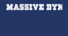 Massive Dynamite