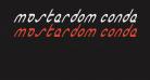 Masterdom Condensed Italic