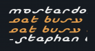 Masterdom Exp Bold Italic