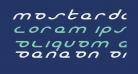 Masterdom Exp Italic
