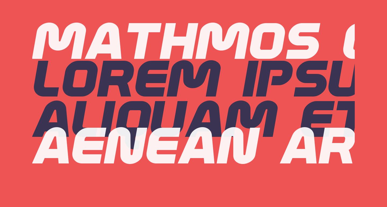 Mathmos Original Italic