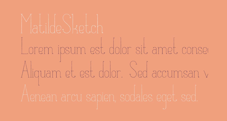 MatildeSketch