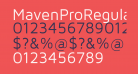 MavenProRegular