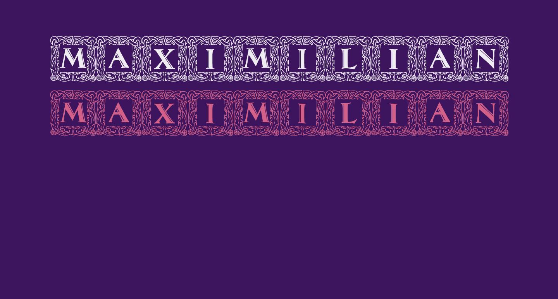 Maximilian Antiqua Initialen Regular