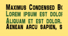 Maximus Condensed Bold
