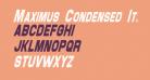 Maximus Condensed Italic