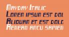 Mayday Italic