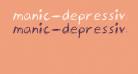 manic-depressive