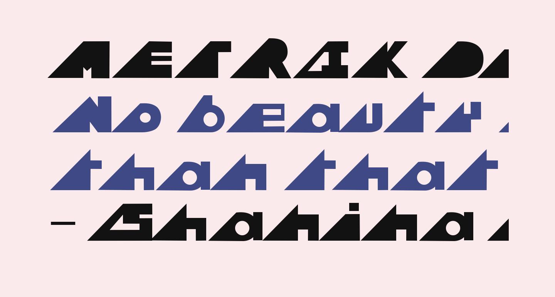 METRIK DemiBold